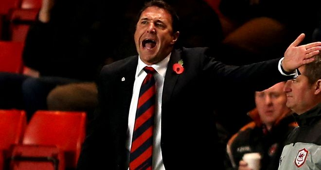 Malky Mackay: Looks to maintain lead at the top of the table