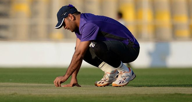 MS Dhoni requested a turning wicket in Kolkata