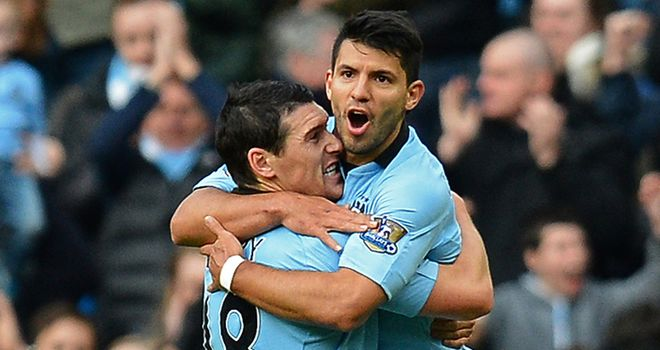 Sergio Aguero: Confident that Manchester City are set for back-to-back Premier League titles