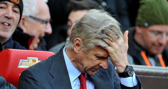 Arsene Wenger: facing arguably the biggest test of his 16-year reign as manager?