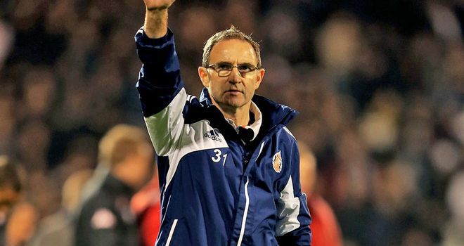Martin O'Neill: Remains committed to the Sunderland cause