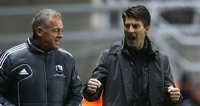 Michael Laudrup: Thrilled with Swansea's attacking threat
