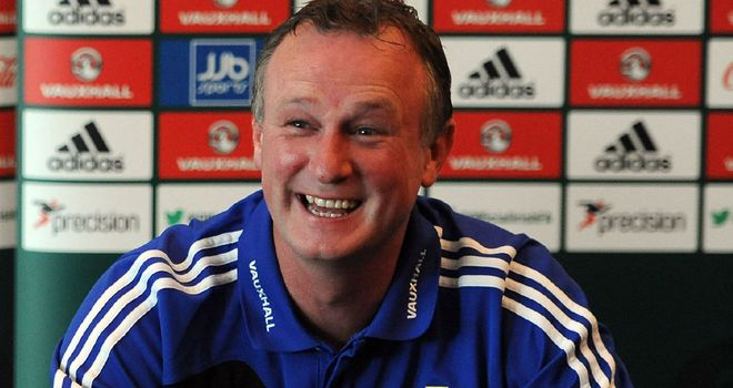 Michael O'Neill: Is chasing his first win in charge of Northern Ireland