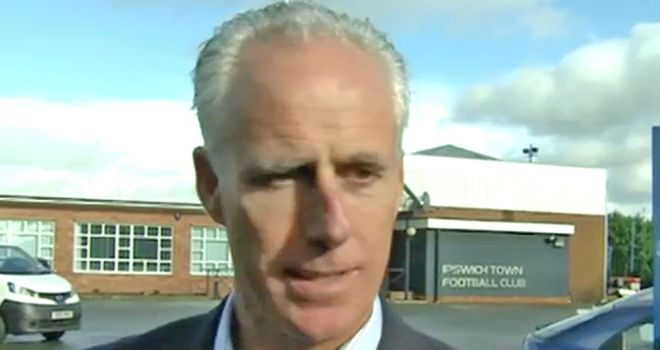 Mick McCarthy is the man tasked with keeping Ipswich in the Championship