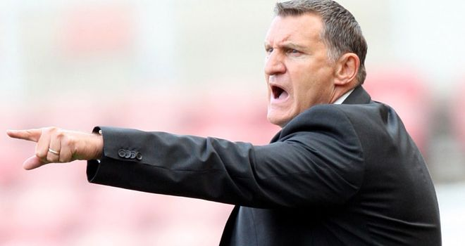 Tony Mowbray: Backing for his squad