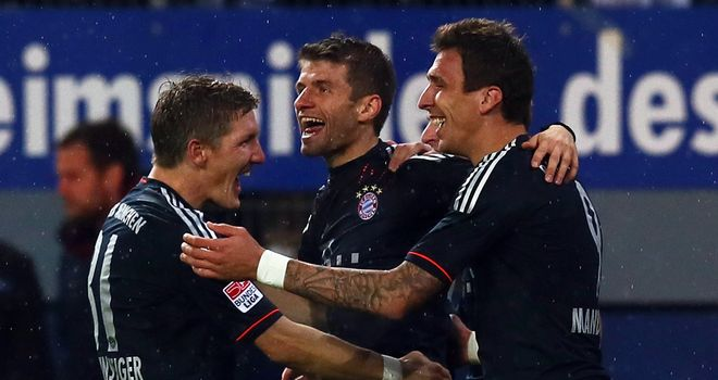 Bayern Munich: On the road in last 16