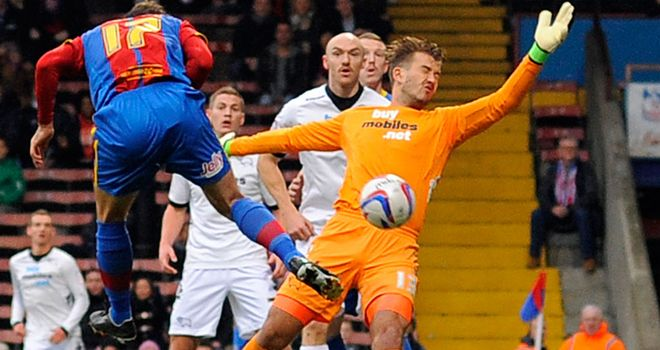 Glenn Murray: Scored twice for Palace