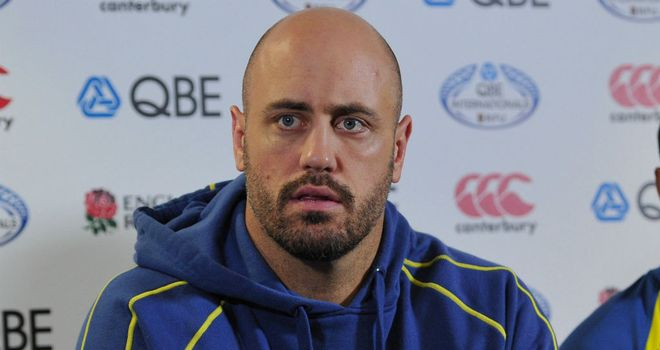 Nathan Sharpe: Eager to get back on track following France debacle