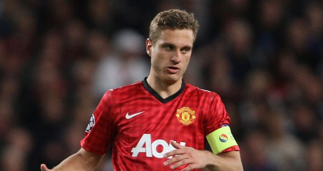 Nemanja Vidic: Ready to return to Manchester United's back four