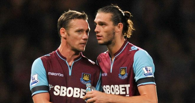 Kevin Nolan: Would like to see Andy Carroll join West Ham on a permanent basis