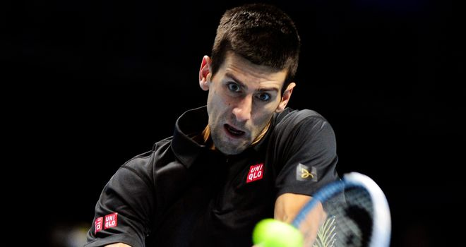 Novak Djokovic: Through to the London semi-finals