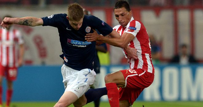 Gaetan Charbonnier: Netted a brace for Montpellier