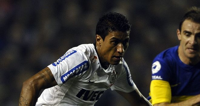 Paulinho: Corinthians coach hopes to keep Brazil star