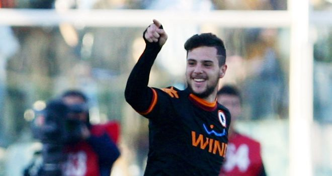Mattia Destro: Scored Roma's second