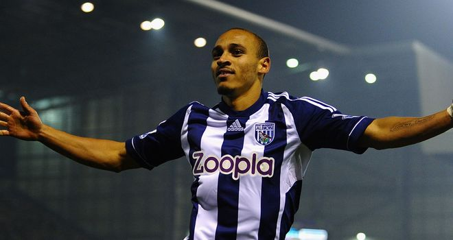 Peter Odemwingie: Eyeing a high finish with West Brom