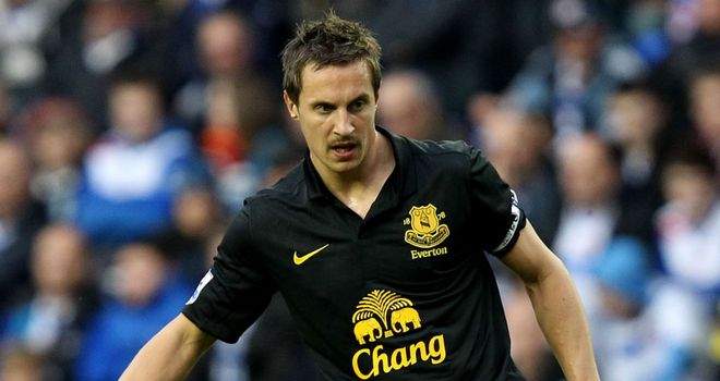 Phil Jagielka: Has backed Nikica Jelavic to rediscover his goalscoring form