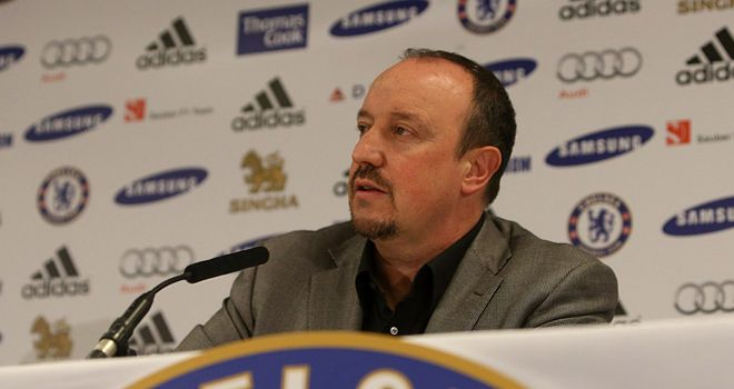 Rafa Benitez: Looking forward to 'easy' Chelsea job