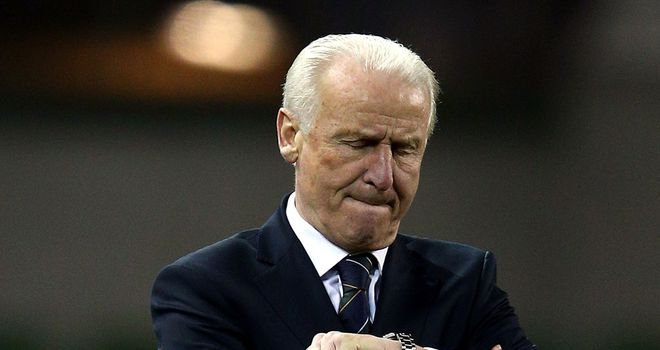 Giovanni Trapattoni: Encouraged by fringe players' performances