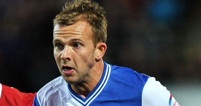 Jordan Rhodes: Netted his first Blackburn hat-trick