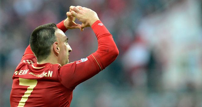 Franck Ribery set Bayern on their way