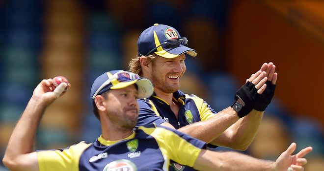 Shane Watson is set to take Ricky Ponting's place