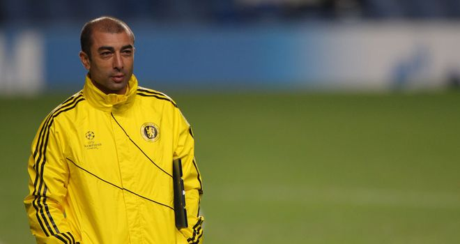 Roberto Di Matteo: May find himself under pressure should Chelsea crash in Turin