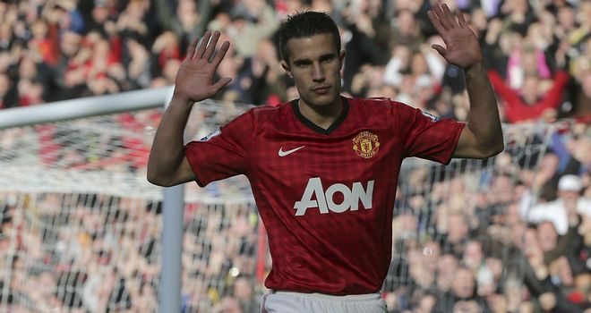 Robin van Persie scored against his former employers when the sides met in October - but declined to celebrate