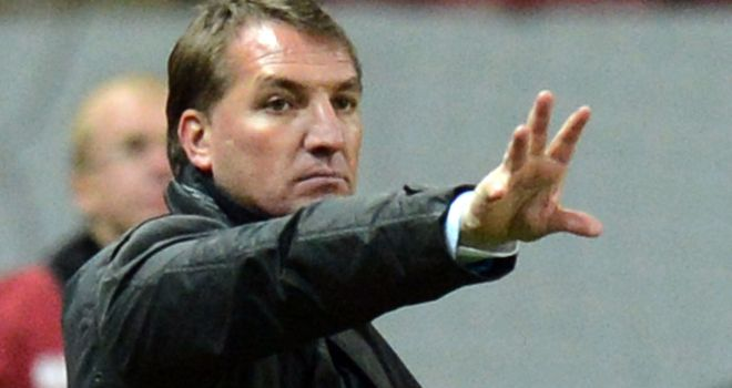 Brendan Rodgers: Felt his young Liverpool side held their own in Moscow