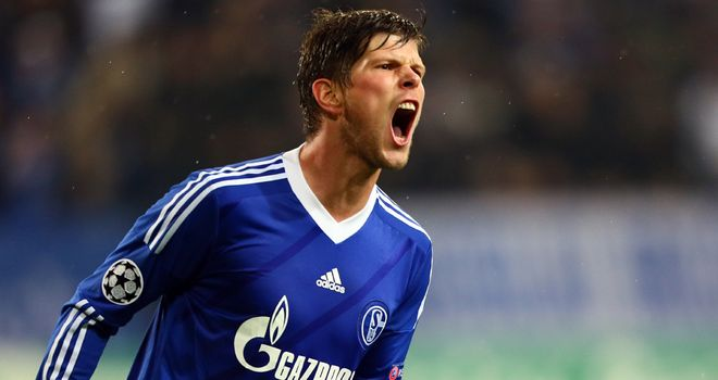Klaas-Jan Huntelaar: Linked with a move to Arsenal but Schalke expect him to stay