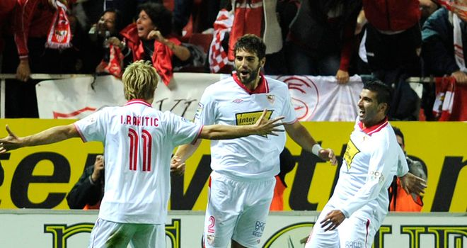 Sevilla: Pushing for Europa League place