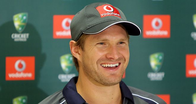 Shane Watson: Filling Ricky Ponting's place in the batting order suits former Australia opener
