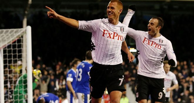 Steve Sidwell: Heroics from the bench for Fulham