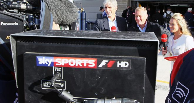 Sky Sports F1 HD: Found at Channel 406 from February 4