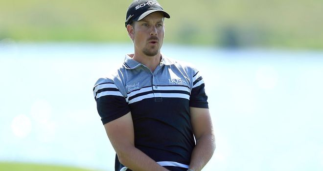 Henrik Stenson: Carded a second-round 65