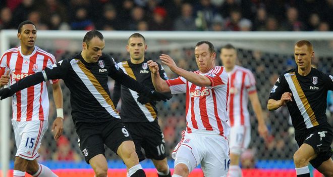 Charlie Adam: Scored in Stoke's last two home games, both 1-0 victories against QPR and Fulham