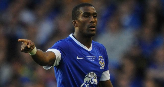 Sylvain Distin: Pushing hard to be part of David Moyes' plans