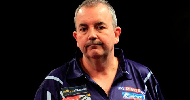 Taylor: shocked by Scott Waites in the round-robin stage