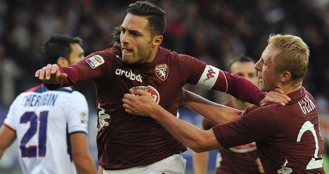 Danilo D'Ambrosio celebrates his goal