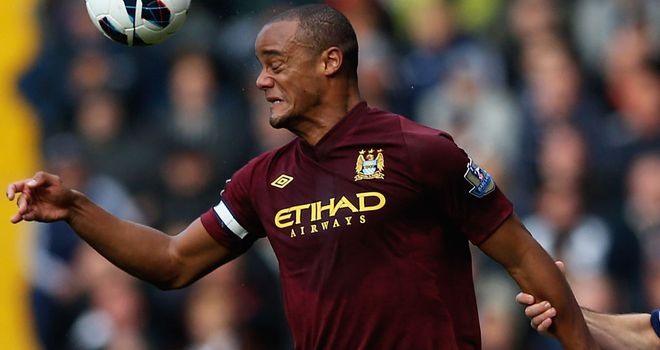 Vincent Kompany: Doubt for trip to Chelsea