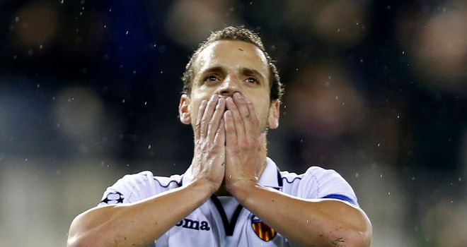 Soldado: Got the vital goal for Valencia