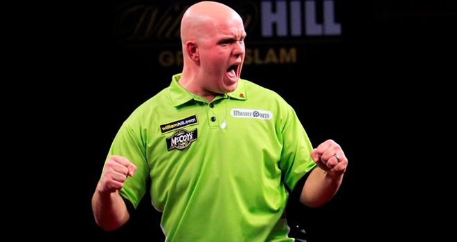 Michael van Gerwen: Beat Phil Taylor in a thrilling final