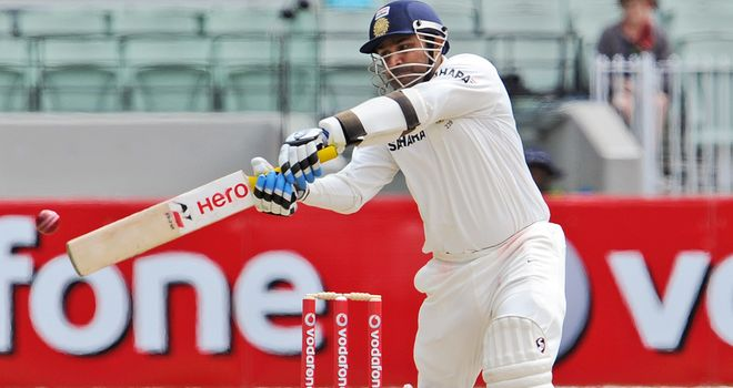 Virender Sehwag: Helped chase down easy target for India