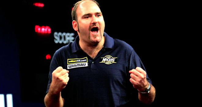 Scott Waites: turned on the style at the Grand Slam of Darts once again