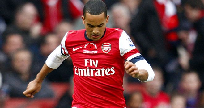 Theo Walcott: A doubt for England's friendly against Sweden after picking up an injury for Arsenal