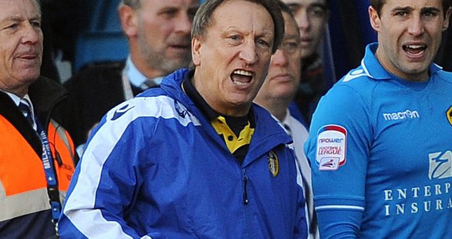 Neil Warnock: Claimed his Leeds side should have had a penalty at Millwall