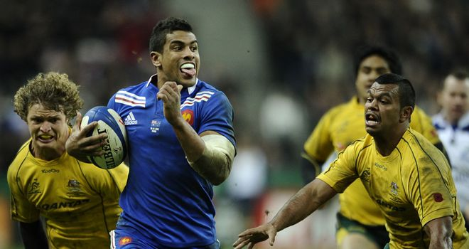 Wesley Fofana: Scored the pick of the tries at the Stade de France