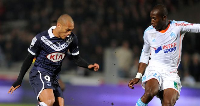 Yoan Gouffran (left): Match winner for Bordeaux