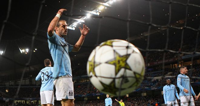 Pablo Zabaleta: Puzzled by Manchester City's poor displays in the Champions League