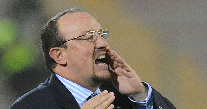 Rafa Benitez: appointed as interim boss the same day Roberto Di Matteo was sacked