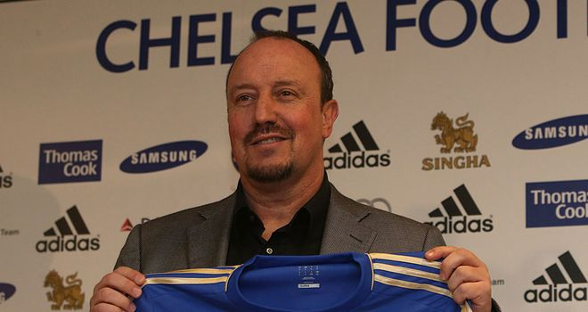Rafa Benitez: Unveiled at Stamford Bridge on Thursday